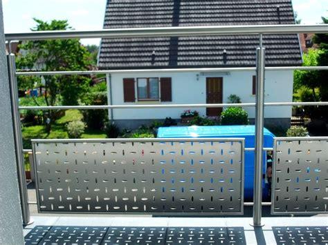garde corps inox bross 233 pour balcon metal concept escalier ferronnerie d alsace