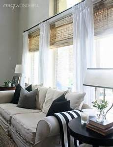crazy wonderful woven wood shades bamboo roman shades With bamboo curtains in living rooms