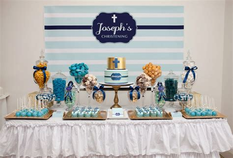 blue christening decorations celebrations in the catholic home blue christening