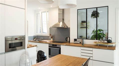 idee cuisine americaine appartement comment amenager sa cuisine ouverte