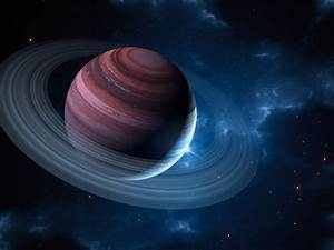 Gas Giant With Planetary Ring by Anikoo on DeviantArt