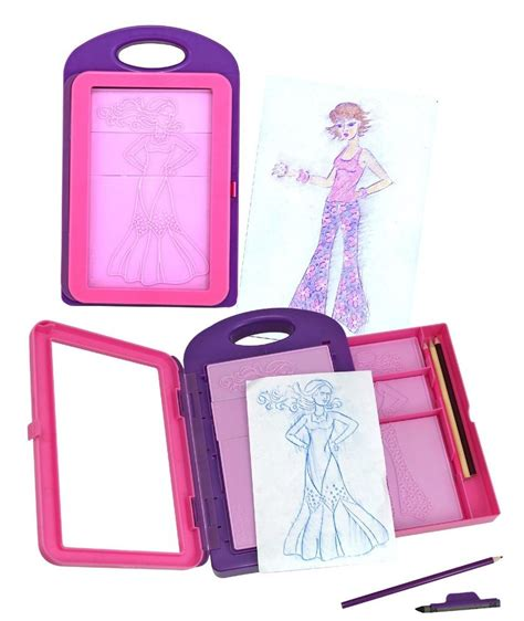 gifts for fashion designers fashion design activity kit pretend play toddler