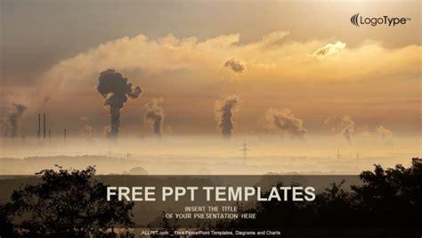 black smoke  smoke stack powerpoint templates