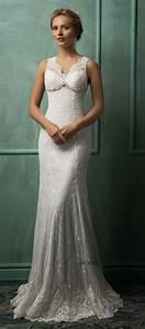 The most flattering wedding dresses modwedding for Flattering wedding dresses