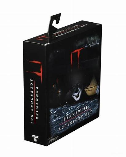 Pennywise Accessory Neca Pack 002 Packaging Via