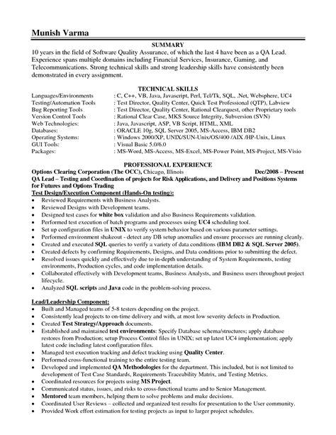 leadership skills on resume sle resume center