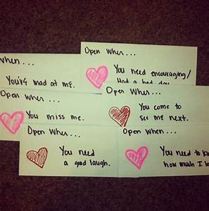 quotopen when lettersquot love these perfect to give to my With love letter gift ideas