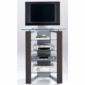 Meuble Tv Haut De Gamme : meuble tv haut en verre ~ Teatrodelosmanantiales.com Idées de Décoration