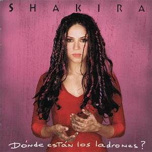 shakira gypsy CD Covers