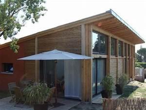 Extension Maison Préfabriquée : maison en bois 34 maison bois h rault languedoc roussillon ~ Melissatoandfro.com Idées de Décoration