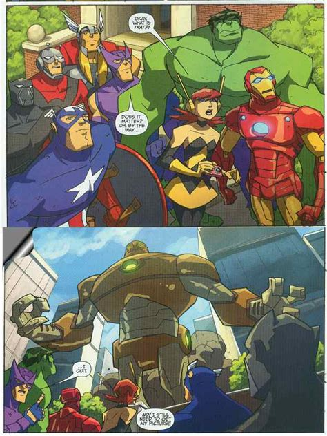 todays comic avengers earths mightiest heroes  bw