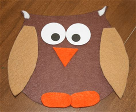 bird crafts all network 674 | owl craft