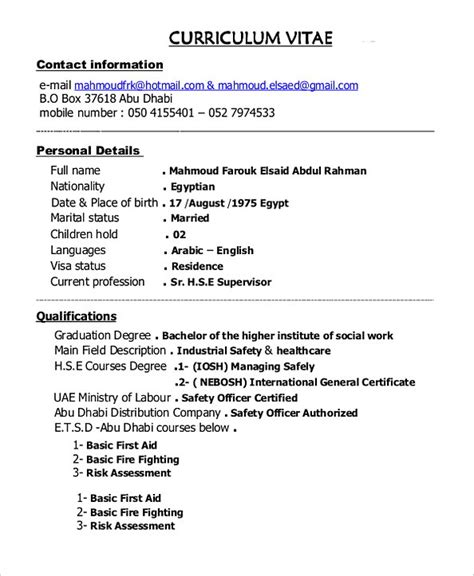 Supervisor Resume Template by Construction Project Manager Resume Sle