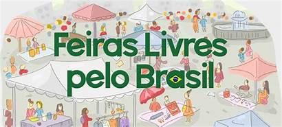 Brasil Feiras Livres Pelo Das Mapa Feira