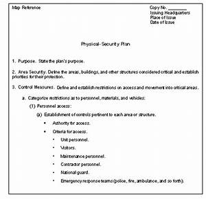 appendix f With physical access control policy template