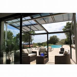 Tonnelle 4 X 3 : tonnelle adoss e aluminium toit polycarbonate 4x3 5m ~ Edinachiropracticcenter.com Idées de Décoration