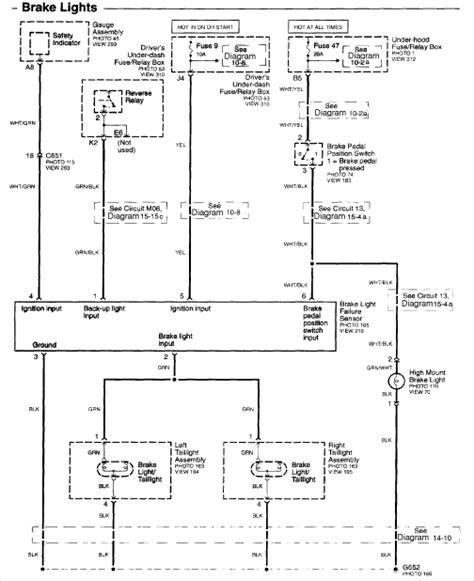2009 Honda Pilot Wiring Diagram by Honda Wiring Tow Bar Electrics Diagram Pinouts For Civic