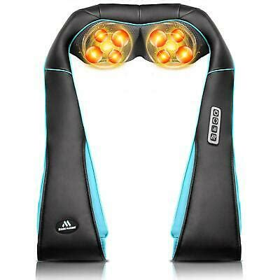 MagicMakers Back Neck Shoulder Massager with Heat | eBay