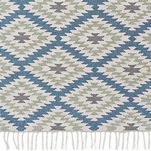 Teppich Blau Grün : outdoor teppich mit zickzack bei ~ Yasmunasinghe.com Haus und Dekorationen