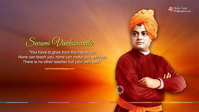 Vivekananda Swami Wallpapers Thoughts Thought Quotes Desktop