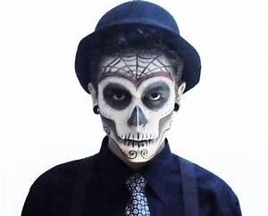 day of the dead men makeup - Google Search   Dia de los ...