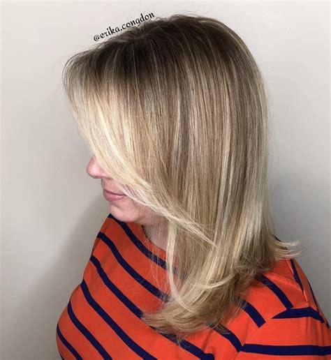 popular medium length hairstyles  bangs updated