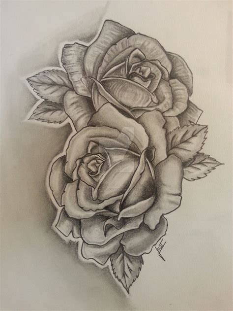 roses tattoodesign  drawing  flower art