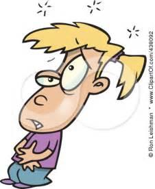 Cartoon Sick Person Clip Art