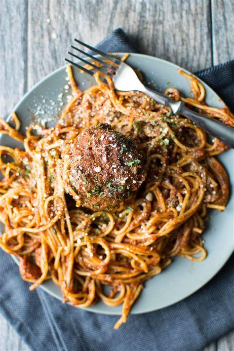 slow cooker  pot spaghetti meatballs slow cooker