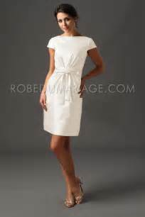 robe mariage civil courte triumph