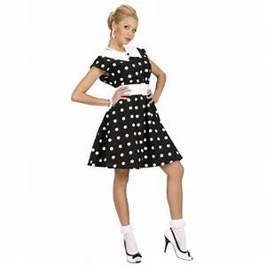 50er Jahre Style : 50er jahre petticoat kleid rockabilly damenkost m schwarz weiss ~ Sanjose-hotels-ca.com Haus und Dekorationen