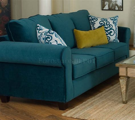 Teal Color Sofa Sofas Couches Settees Anthropologie Thesofa