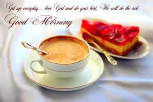 Good Morning Coffee and Cake
