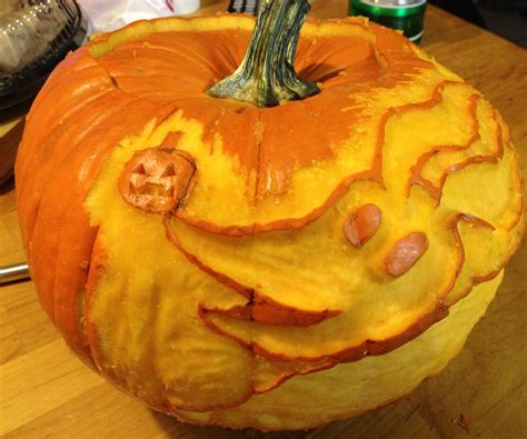 Zero Nightmare Before Christmas Pumpkin Carving Template by Zero Nightmare Before Christmas Pumpkin Edition 4