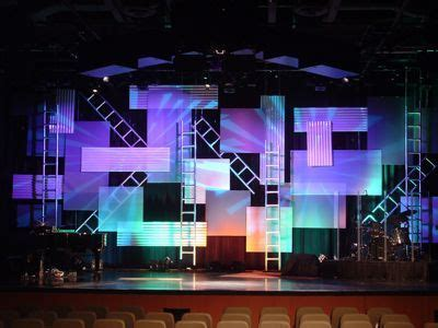 pin  thq west youth  stage design potential church