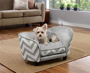 enchanted home pet grey chevron ultra plush snuggle pet With dog beds in store