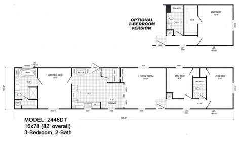 elegant single wide mobile home floor plans  pictures  home plans design