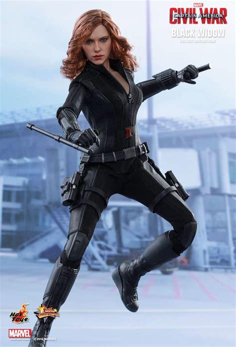 Hot Toys Captain America Civil War Black Widow