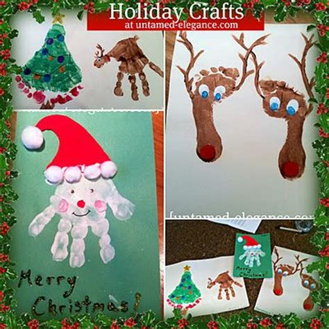 holiday kid crafts ks1 christmas card ideas pinterest