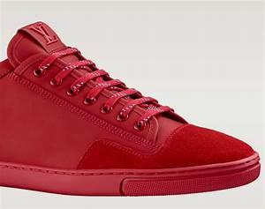 Louis Vuitton Slalom Sneaker - Mono Red - Freshness Mag