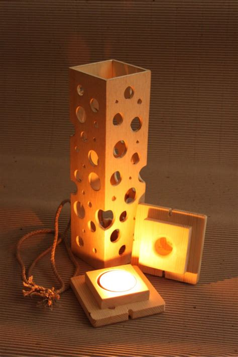 Decorated Wine Rack  Wooden Candlestick  Wooden Home