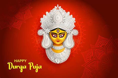 Goddess Durga Stock Vector. Illustration Of Editable