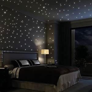 Sternenhimmel Fürs Schlafzimmer : wandtattoo himmel sternenhimmel ~ Michelbontemps.com Haus und Dekorationen