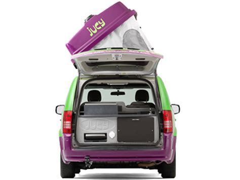 Jucy Champ Campervan Rentals USA  Jucy Champ USA Motorhome