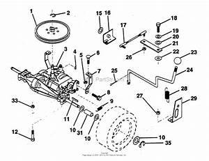 Ayp  Electrolux Pp1136j  1994  Parts Diagram For Transaxle