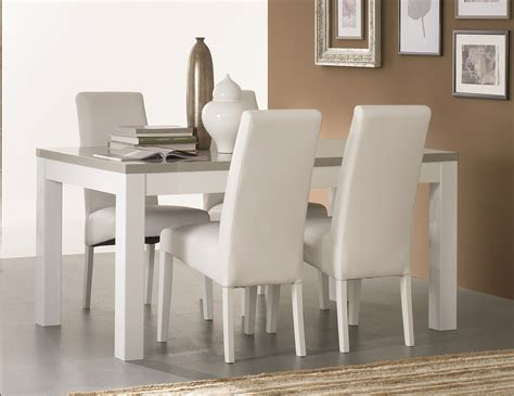 table salle a manger avec chaise chaise salle a manger blanche inspirations avec table de