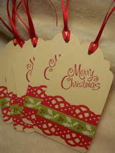 scrapbook christmas gift tags bing images christmas ideas pinterest