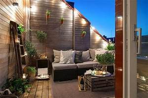 amenager une terrasse design sans perdre de place With beautiful idee de cloture exterieur 9 10 idees pour amenager une terrasse travaux