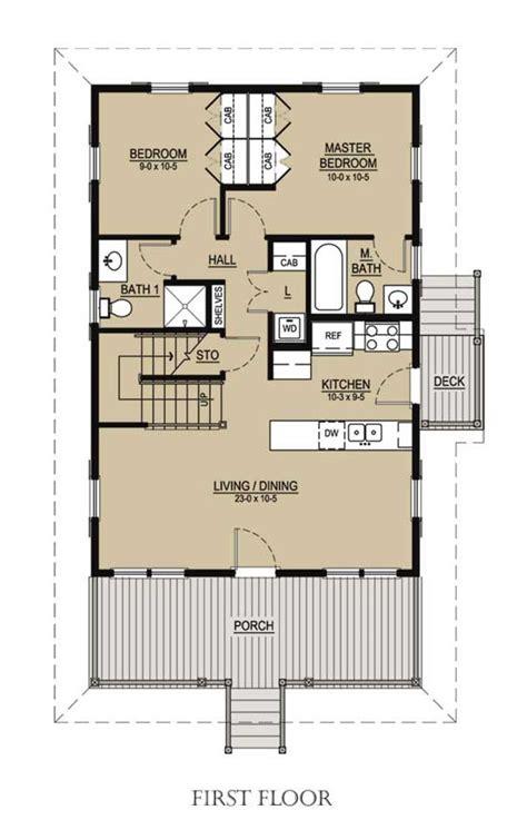 Beach Style House Plan 3 Beds 3 Baths 1413 Sq/Ft Plan #536 1