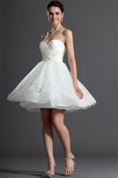 robe bustier blanche courte mariage mode fashion et tendance robe de soir 233 e blanche courte